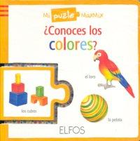 Conoces los colores puzle maxmix
