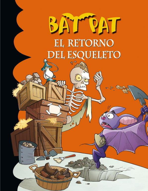 Bat pat 18 el retorno del esqueleto