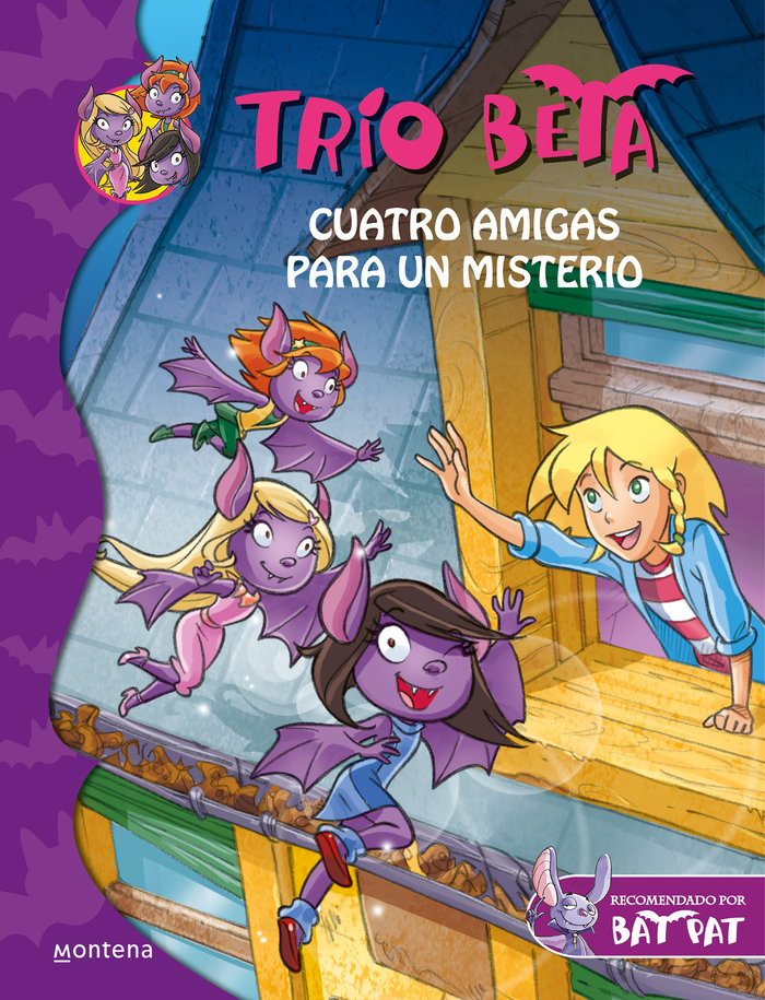 Trio beta 1 cuatro amigas para un misterio