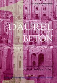 Daurel y beton. cantar de gesta occitano del siglo xiii
