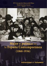 Mujer y politica en la españa contemporanea 1868-1939