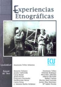 Experiencias etnograficas