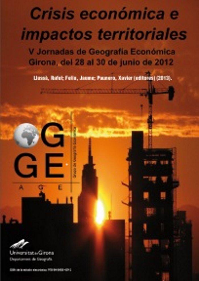 Crisis economica e impactos territoriales
