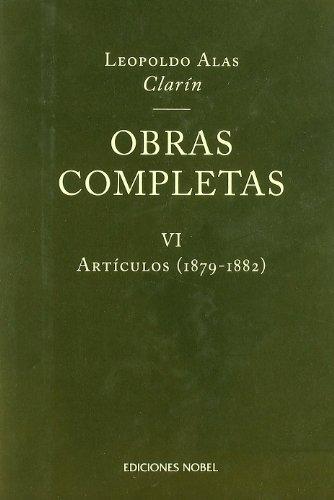 Obras completas clarin tomo vi articulos 1879-1882