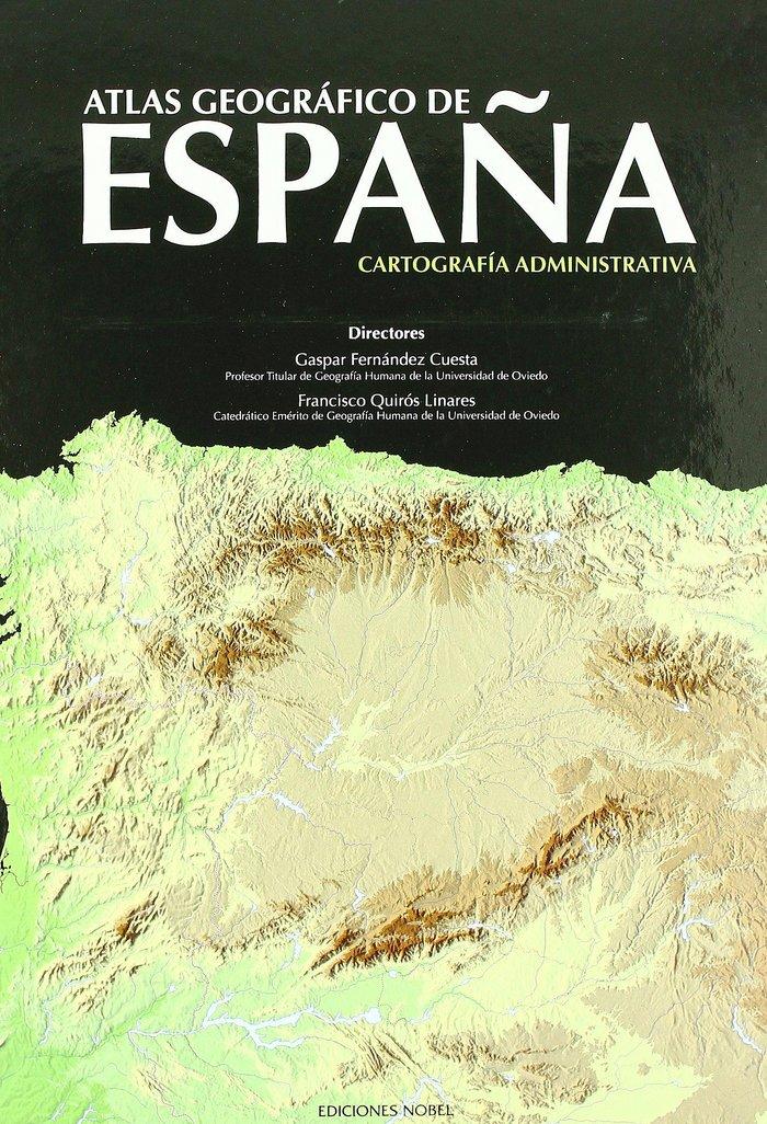 Atlas geografico españa ii cartografia administrariva