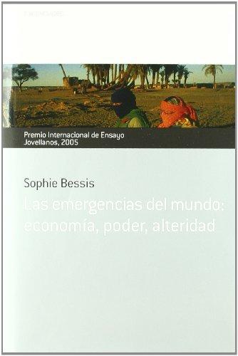 Emergencias del mundo: economia, poder, alteridad. premio in