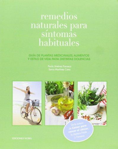 Remedios naturales para sintomas habituales