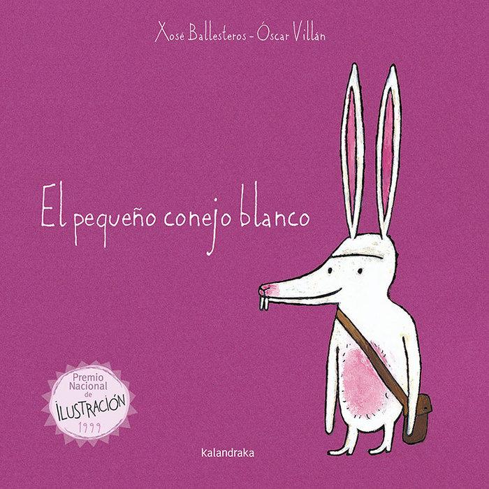 Pequeño conejo blanco,el