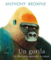 Gorila, un libro para aprender a contar