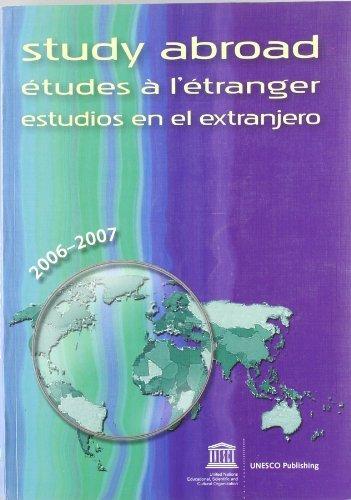 Estudiosÿenÿelÿextranjeroÿ2006-2007.ÿxxxiiiÿedicion