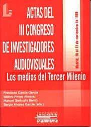Actas del iii congreso audiovisual, con cd