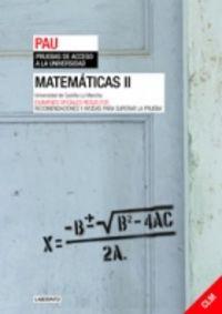 Matematicas ii pau c.mancha