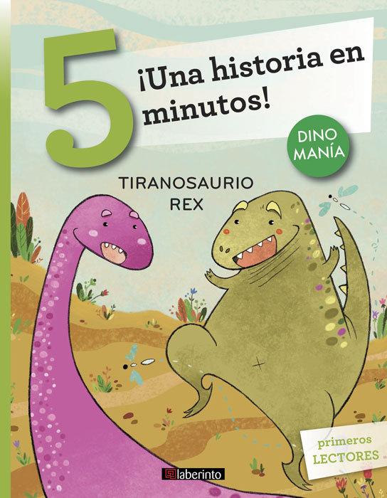 Una historia en 5 minutos tiranosaurio rex