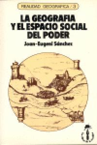 Geografia y el espacio social del poder,la