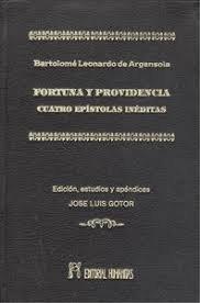Fortunata y providencia. cuatro epistolas ineditas