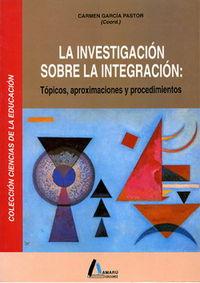 Investigacion sobre la integracion