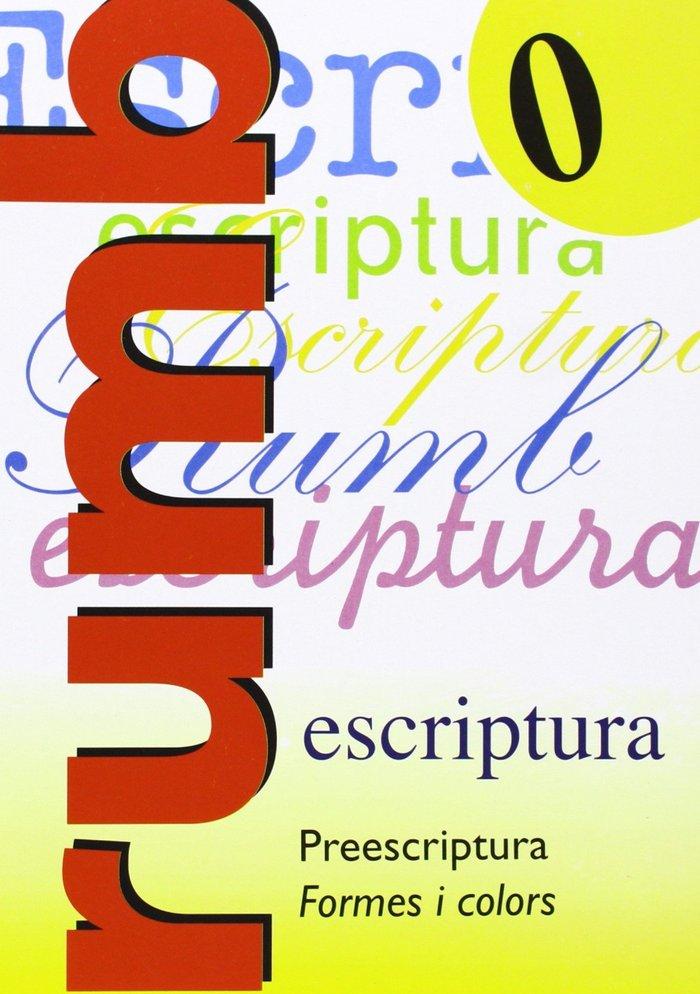 Escriptura rumb 0 preescriptura formes i colors
