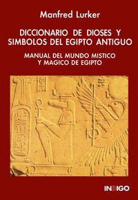 Diccionario de dioses y simbolos del egipto antiguo manual d