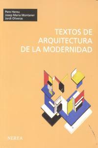 Textos arquitectura de la modernidad