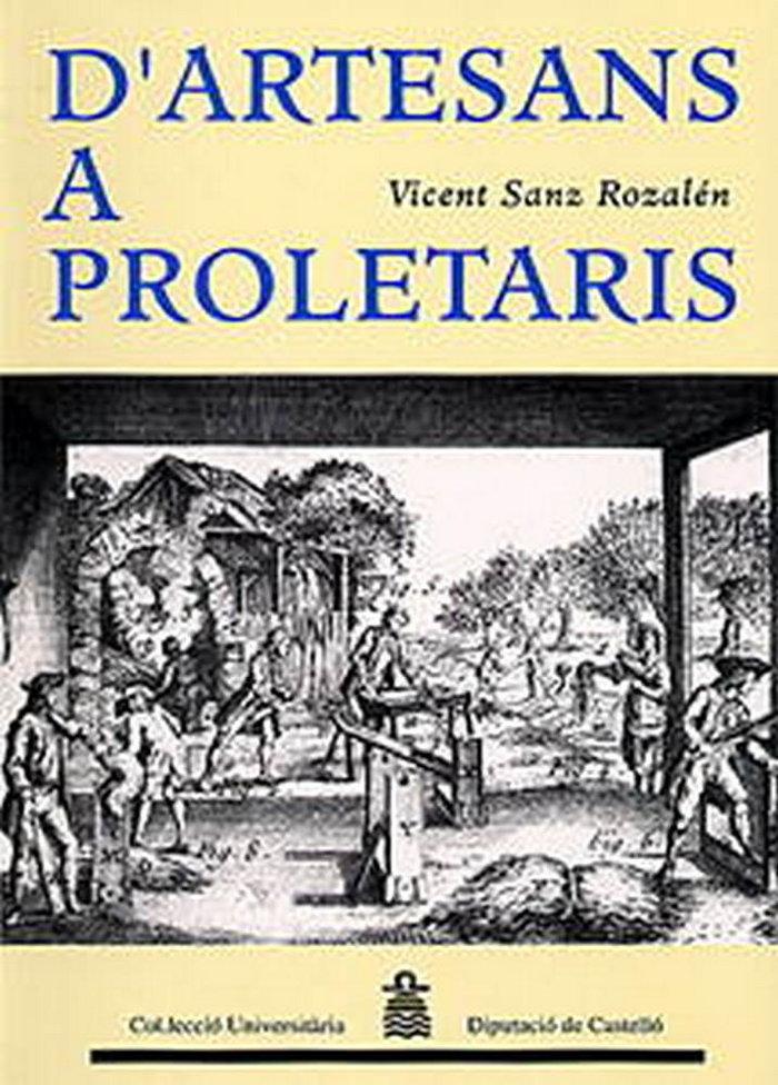 D'artesans a proletaris