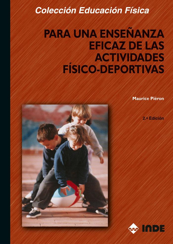 Para enseñanza eficaz actividades fisico deportivas