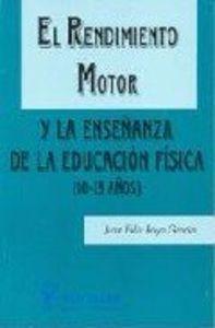 Rendimiento motor y enseñanza e.f.