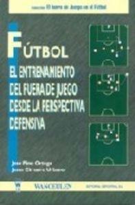 Futbol entren.fuera de juego persp.defensiva