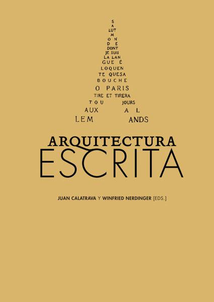 Arquitectura escrita