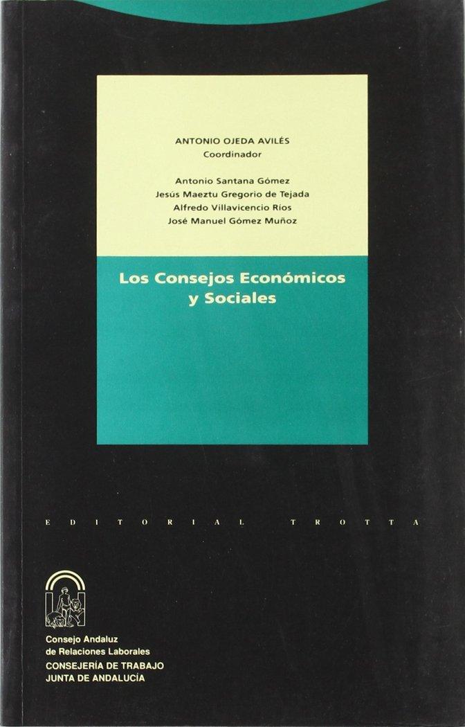 Consejos economicos y sociales trotta
