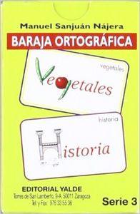 Baraja ortografica serie 3