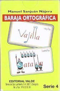 Baraja ortografica 4