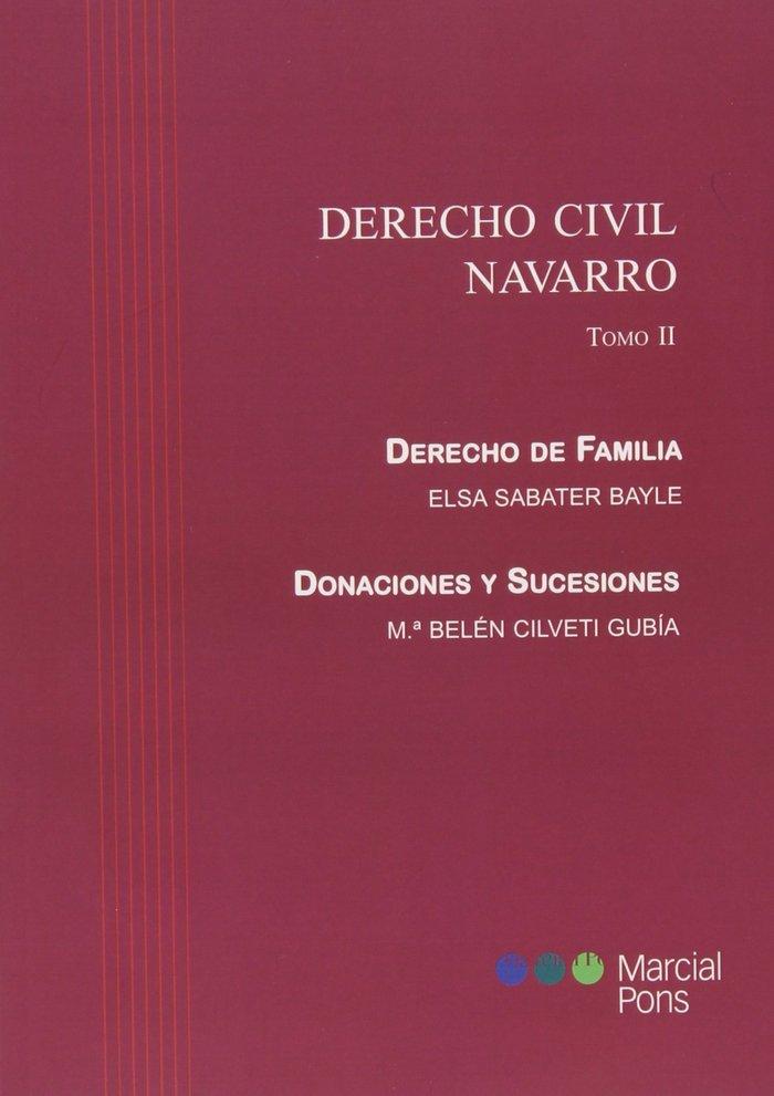 Derecho civil navarro. tomo ii. derecho de familia. donacion
