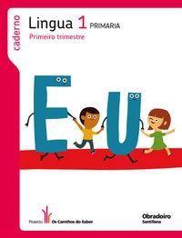 Lingua caderno 1 os camiños do saber pauta ed.2014