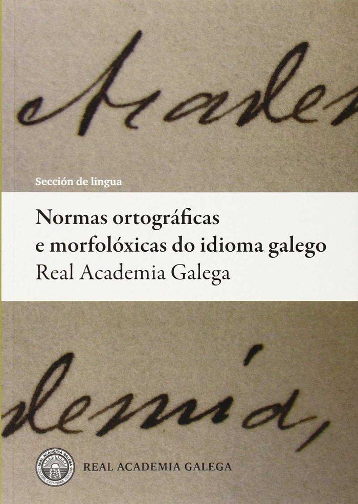 Normas ortograficas e morfoloxicas do idioma galego