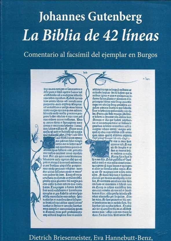 Libro estudio de la biblia de gutenberg