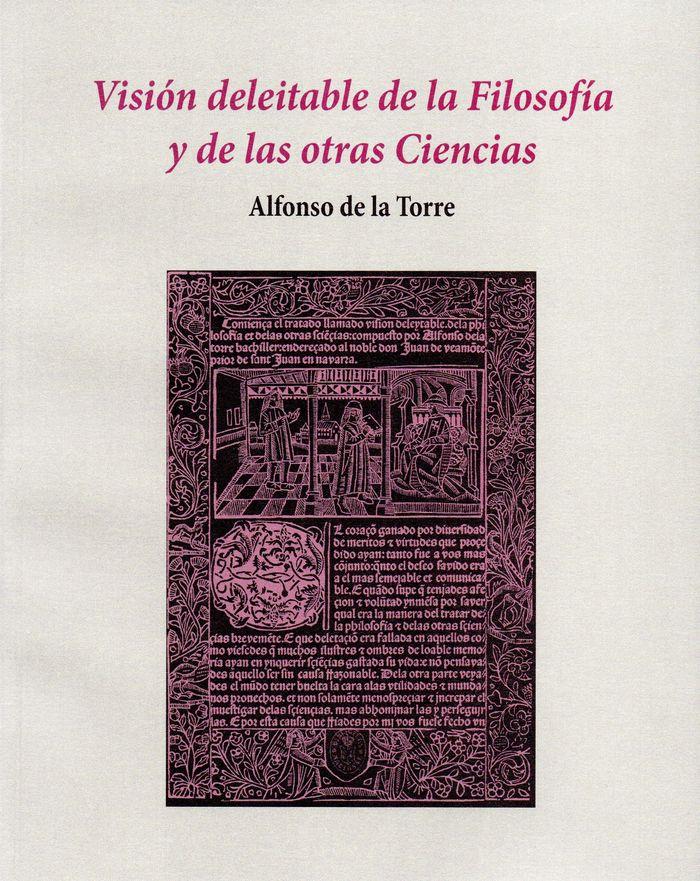 Vision deleitable de la filosofia y de las otras ciencias