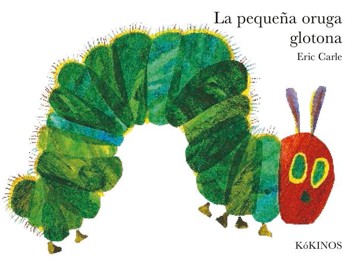 Pequeña oruga glotona,la grande