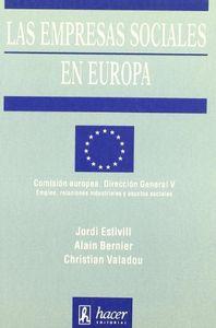 Empresas sociales en europa,las