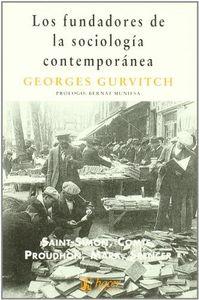 Fundadores sociologia contemporanea,los