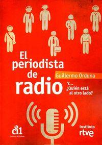 Periodista de radio,el