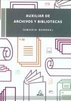 Auxiliar de archivo y biblioteca