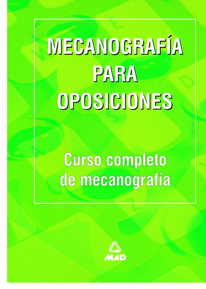 Mecanografia para oposiciones curso completo mecanografia