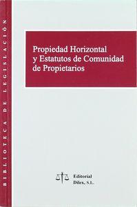 Propiedad horizontal y estatutos comunidad propietarios