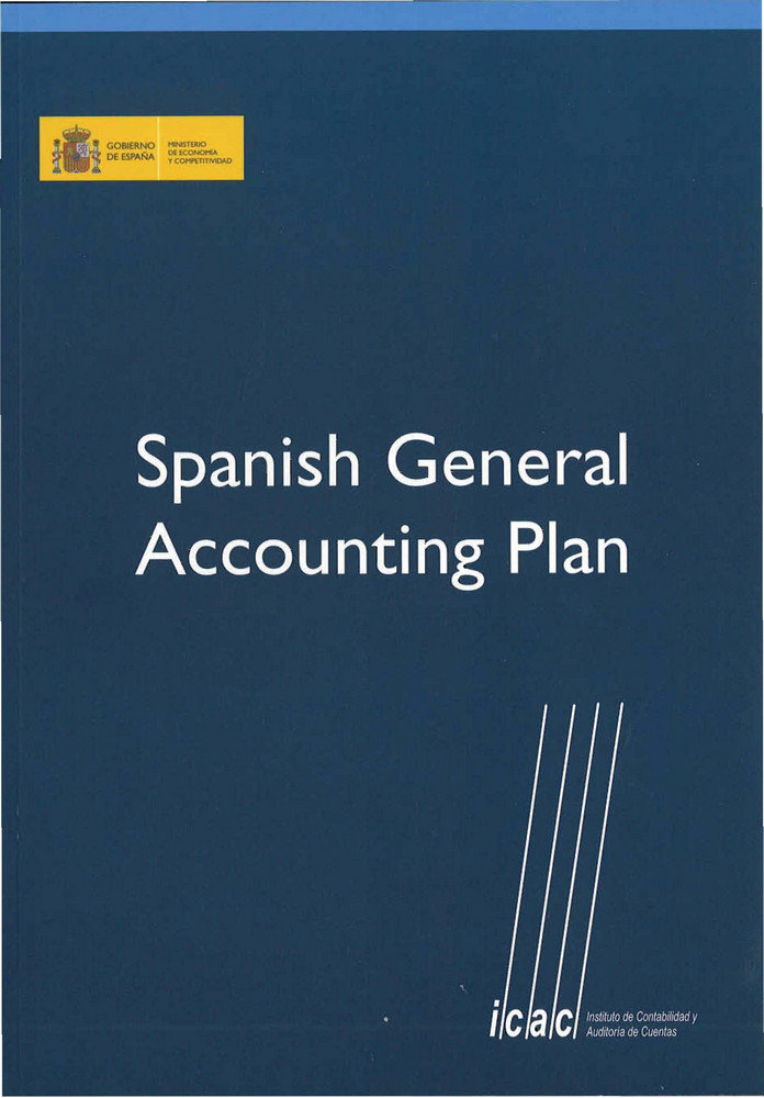Spanish general accounting plan