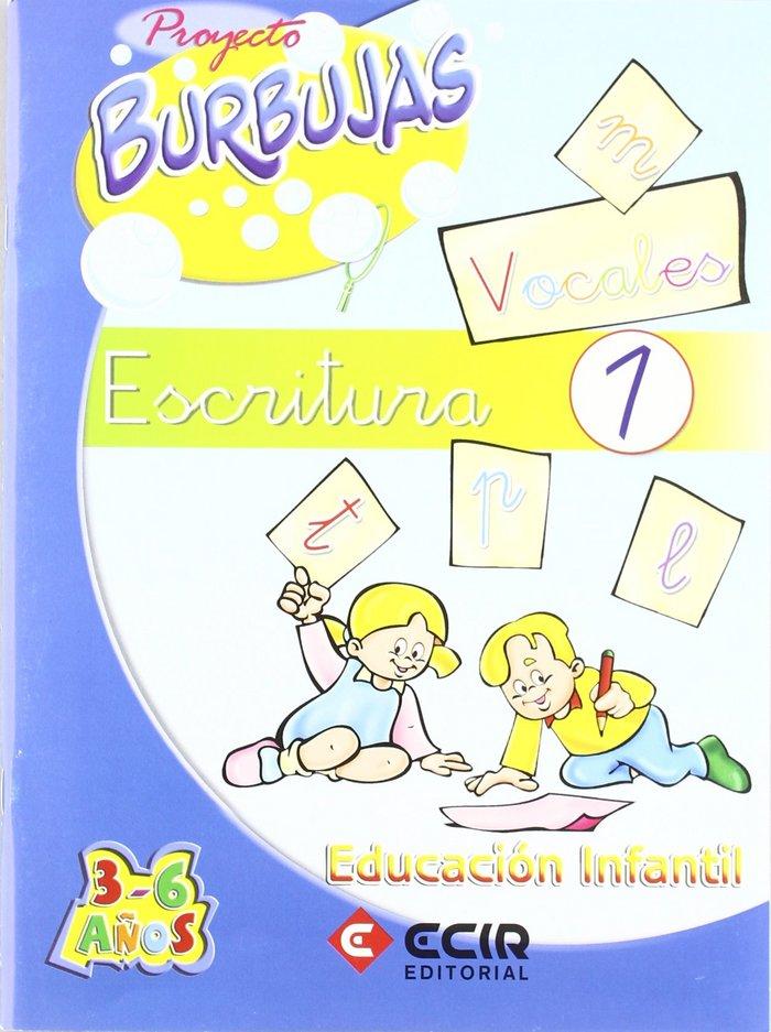 Cuaderno escritura 1 proyecto burbujas