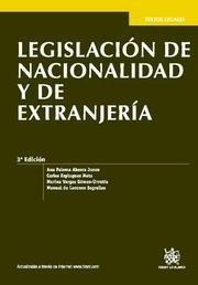 Legislacion de nacionalidad y de extranjeria   textos legale