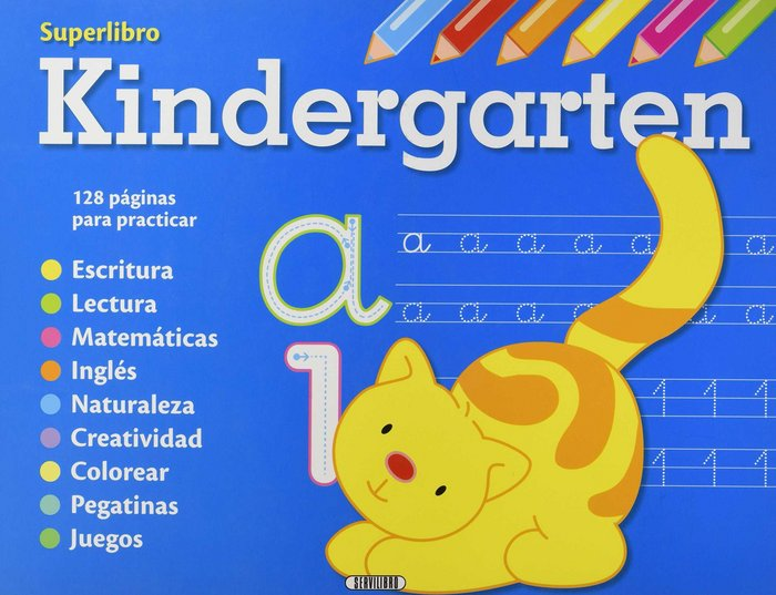 Vacaciones/preescolar/kindergarden superlibro 3 titulos
