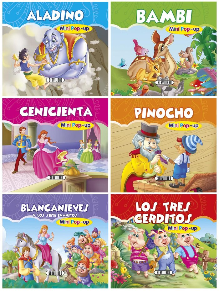 Coleccion mini pop-up cuentos clasicos