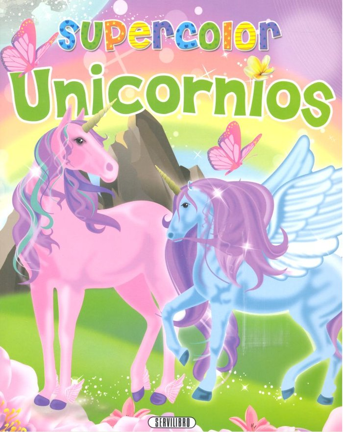 Supercolor unicornios 4 titulos