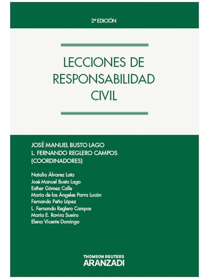 Lecciones responsabilidad civil 2ºed